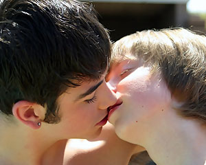 Kissing Passionately!
