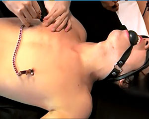 Tie Up, Whipped and Fucked!