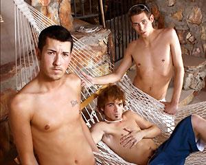 Evan, Jordan and Aaron!
