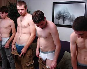The Boys Strippin'!
