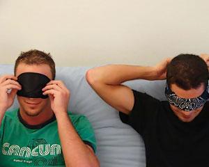 Blind Folding Suprise!