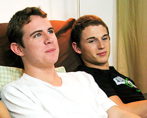 Ryan and Tyler On The Couch!